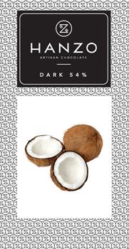 Horká čokoláda s kokosom