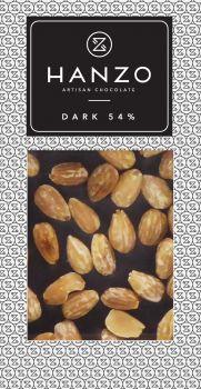 Horká čokoláda s mandľami