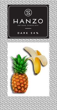 Horká čokoláda s tropickými ovociami