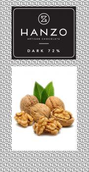 Horká čokoláda s vlašskými orechami