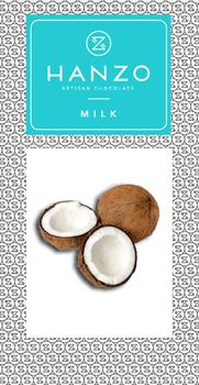 Mliečna čokoláda s kokosom