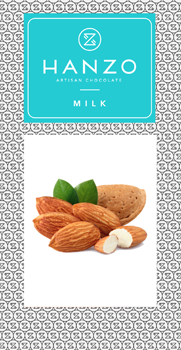 Mliečna čokoláda s mandľami