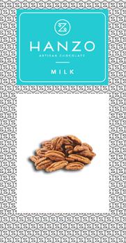 Mliečna čokoláda s pekánovými orechami