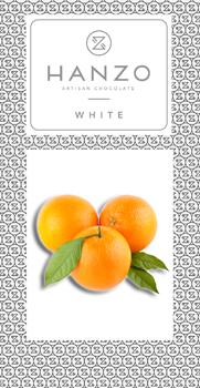Pomarančovo-biela čokoláda
